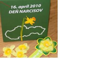 16. apríla je Deň narcisov