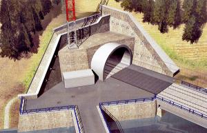 Dvojkoľajový tunel cez Turecký vrch