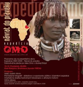 Prezentácia expedície OMO 2005