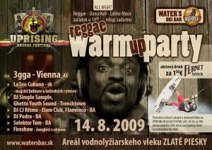 UPRISING Reggae WARM UP Party