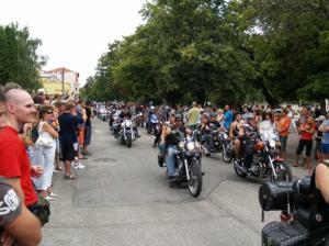 Zraz motorkárov- TANEC SLNKA 2007