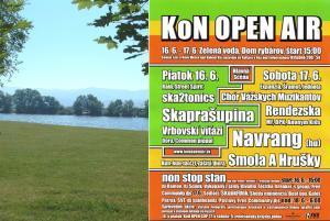 KoN Open Air pred týždňom