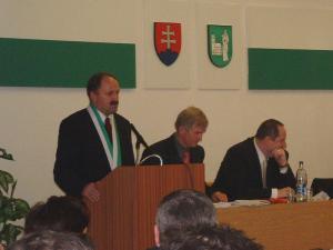 Príhovor primátora k mestskému zastupiteľstvu