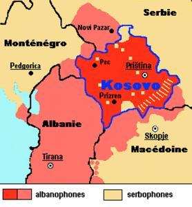 Realizácia zámeru samostatné Kosovo