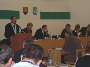 1. zasadnutie nového zastupiteľstva