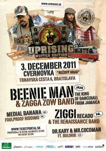 Sobotný Uprising rozvibruje Bratislavu