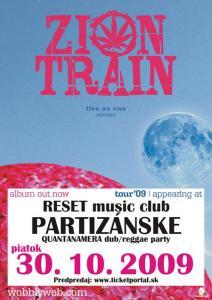 Kultový Zion Train vystúpi v Partizánskom!