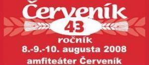 Červeník už piatok 08.08.2008 privíta svojich divákov