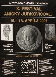 X. Festival Aničky Jurkovičovej