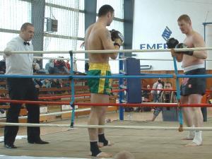 5. kolo slovenskej ligy amatérskeho thajského boxu