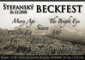 Beckfest 26.12.2008