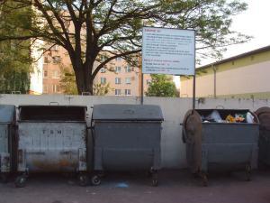 Odpad v komplexnej bytovej výstavbe