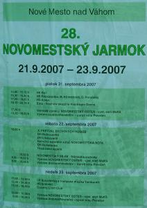 Novomestský Jarmok 2007 – program