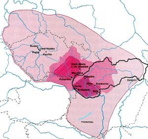 Zánik Velké Moravy v písemných pramenech
