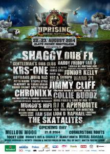 Uprising Reggae Festival 2014 už o necelý mesiac. Sleduj veselý TV Spot!