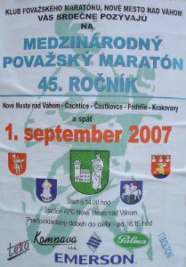 45. ročník Považského maratónu