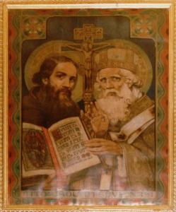 sv. Konštantín a sv. Metod   - Ciril KONŠTANTÍN Filozof -