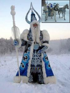 Dedo Mráz a Snehulienka