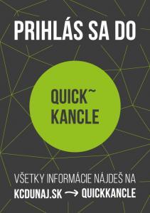 Inšpiratívny priestor pre neziskové organizácie - Quick Kancle