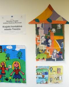 Otvorenie výstavy k 1. ročníku prehliadky výtvarných prác materských škôl s rodovou tematikou
