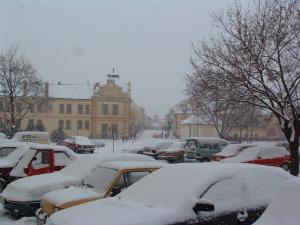 Snehová pokrývka nebývalých rozmerov