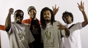 Hip-hop legendy The Pharcyde na Uprisingu